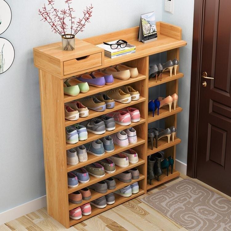 [假期折扣]鞋架鞋架家用門口簡易鞋柜收納經濟型多層置物架宿舍鞋架家用室內好看JD