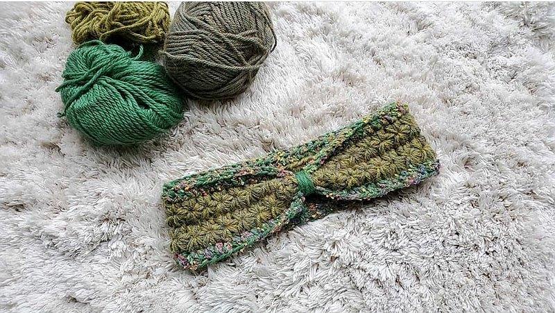 編織髮帶-森林