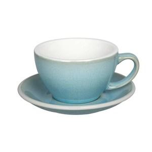 Loveramics Pro-Egg拿鐵咖啡杯盤300ml-共9色冰雪藍