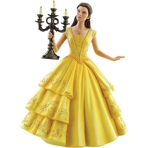 Enesco Disney 迪士尼公主 電影版貝兒艾瑪華森美女與野獸塑像_EN92469