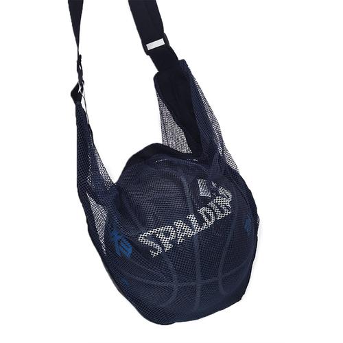 Spalding [SPB5321N62] 單顆裝 網袋 攜帶方便 附肩袋 不含籃球 斯柏丁 深藍