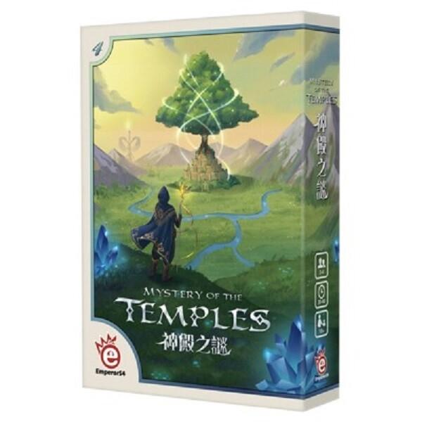 免費送薄套 神殿之謎 附promo 繁體中文版 mystery of the temples