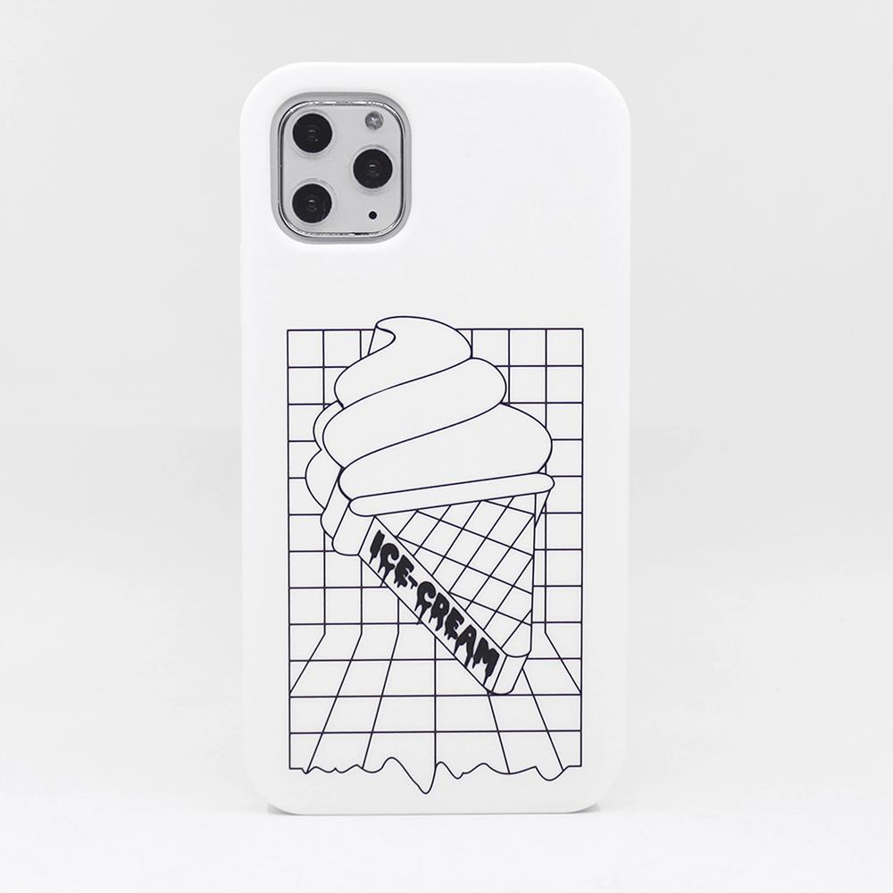 【Candies】Simple系列 冰淇淋(白) - iPhone 11 Pro Max