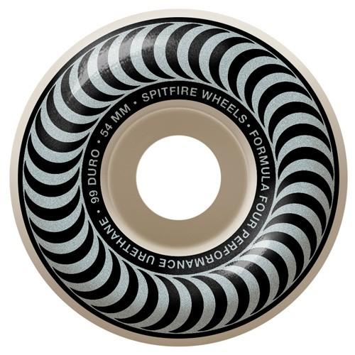 Spitfire F4 Classics Silver 54mm 99a 輪子/滑板《Jimi Skate Shop》