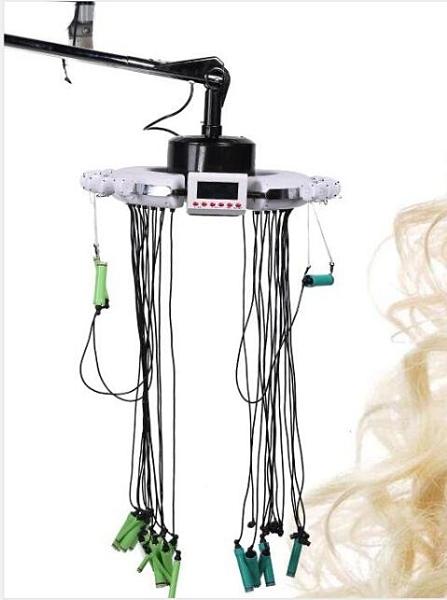智慧飛天陶瓷燙發機數碼陶瓷兩用機器美發機熱燙機器發廊專用24vigo 向日葵