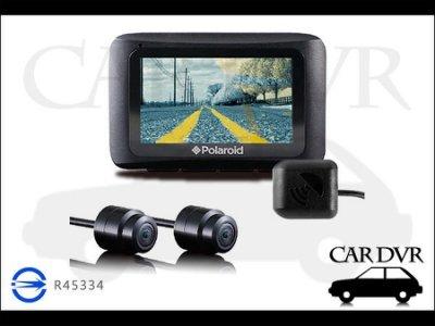 【贈3好禮】Polaroid 寶麗萊 GPS 蜂鷹夜視雙鏡 MS273WG 1080P 機車行車記錄器