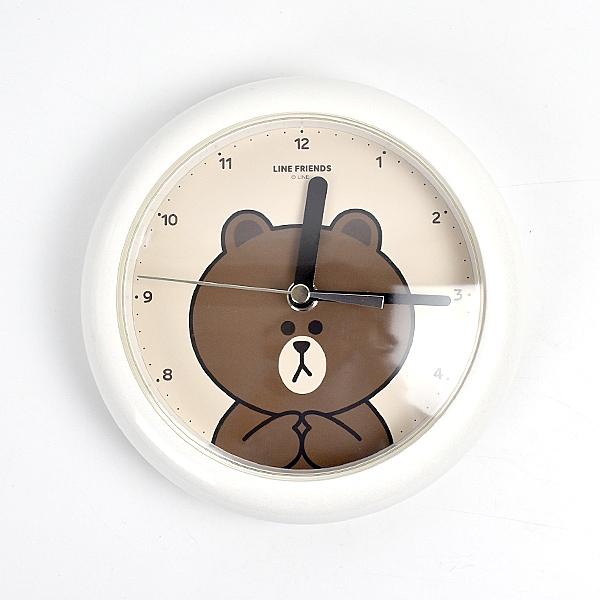 鬧鐘 LINE熊大白色造型NVK15