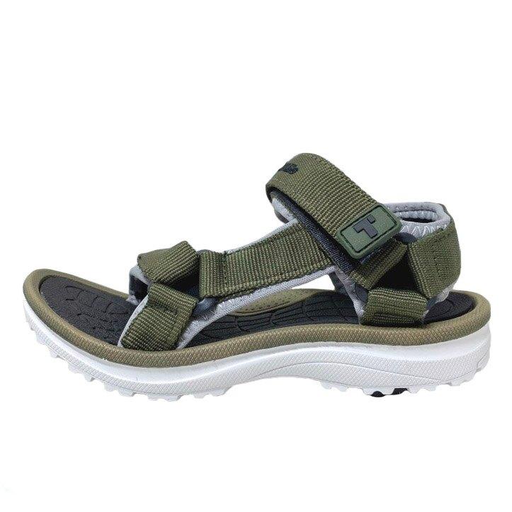 【滿額領券折$150】TOPUONE 童款可調超輕織帶運動涼鞋 [618323] 綠【巷子屋】
