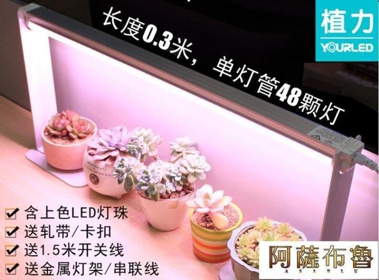 植物燈 植力 LED全光譜多肉補光燈防徒長上色植物生長光合作用家用仿太陽 阿薩布魯 限時鉅惠85折