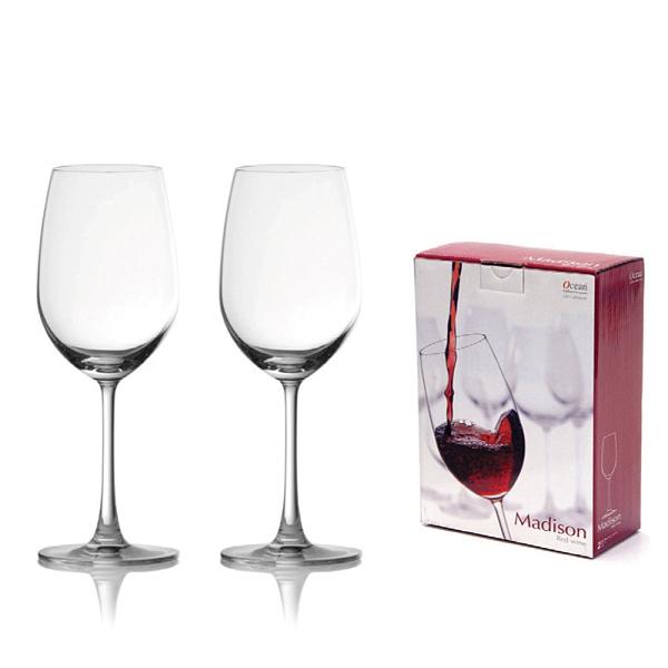 Ocean 麥德遜紅酒杯425ml(2入禮盒組)