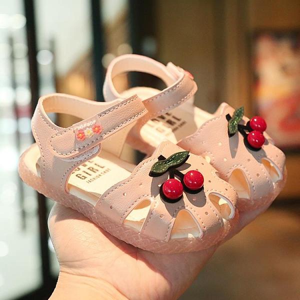 夏季寶寶學步鞋女童涼鞋