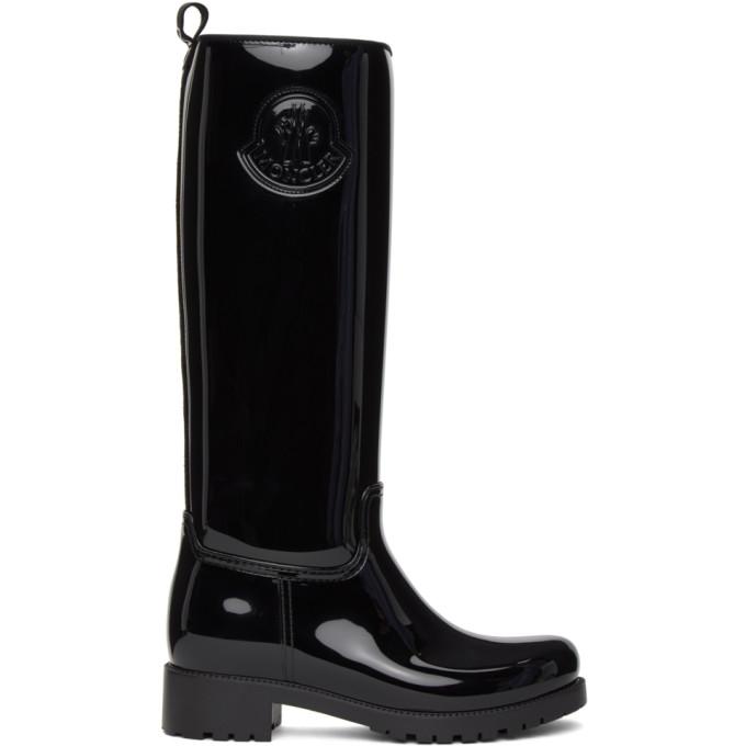Moncler 黑色 Ginger 高筒靴