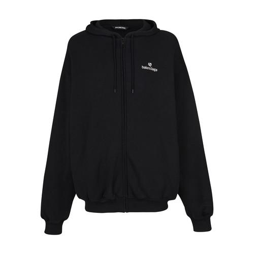 Bomber zip up hoodie
