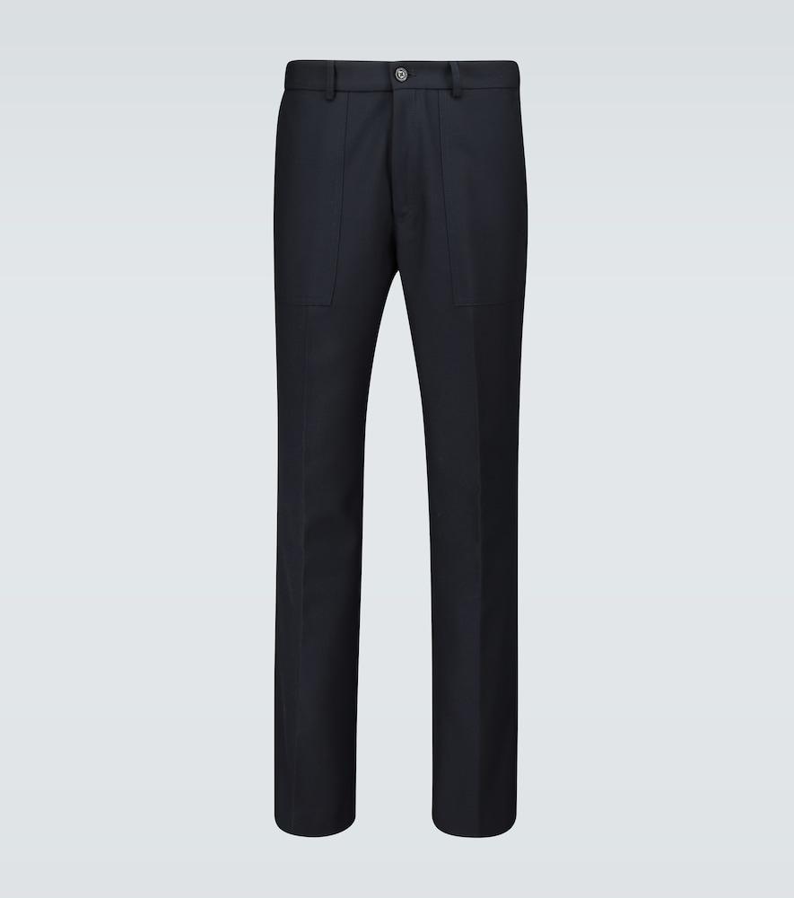 2 MONCLER 1952 Sportivo classic wool pants