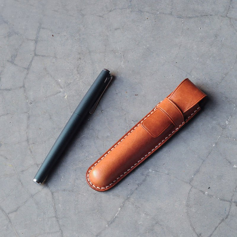 【預購】DOZI皮革-皮塑鋼筆套