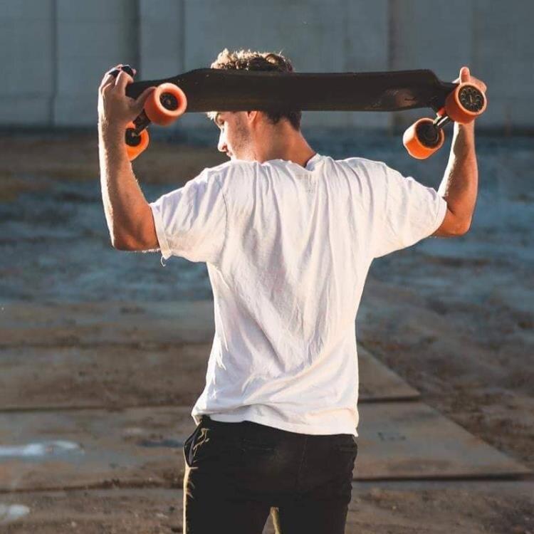 夯貨折扣!」電動滑板車 exway電動四輪滑板 智慧電子成人動力遙控代步神器高端電動滑板車mks