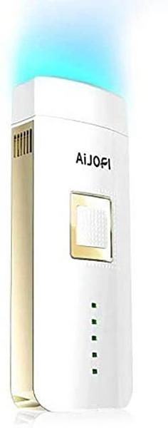 AIJOFI【日本代購】美容儀 脫毛器 60萬次 自動照射 男女兼用-白