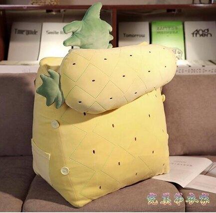 靠枕 靠枕床頭抱枕沙發辦公室三角孕婦護腰靠墊軟包床上大靠背枕頭單人【快速出貨八折下殺】
