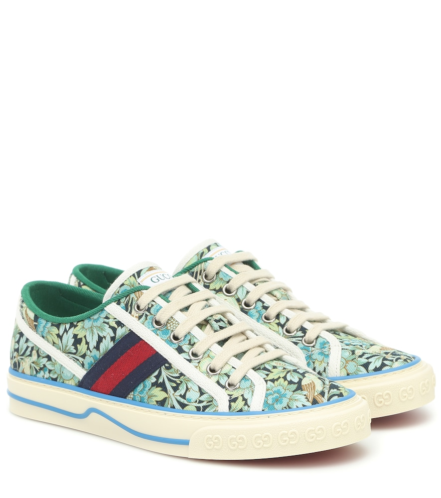 x Liberty Tennis 1977 canvas sneakers