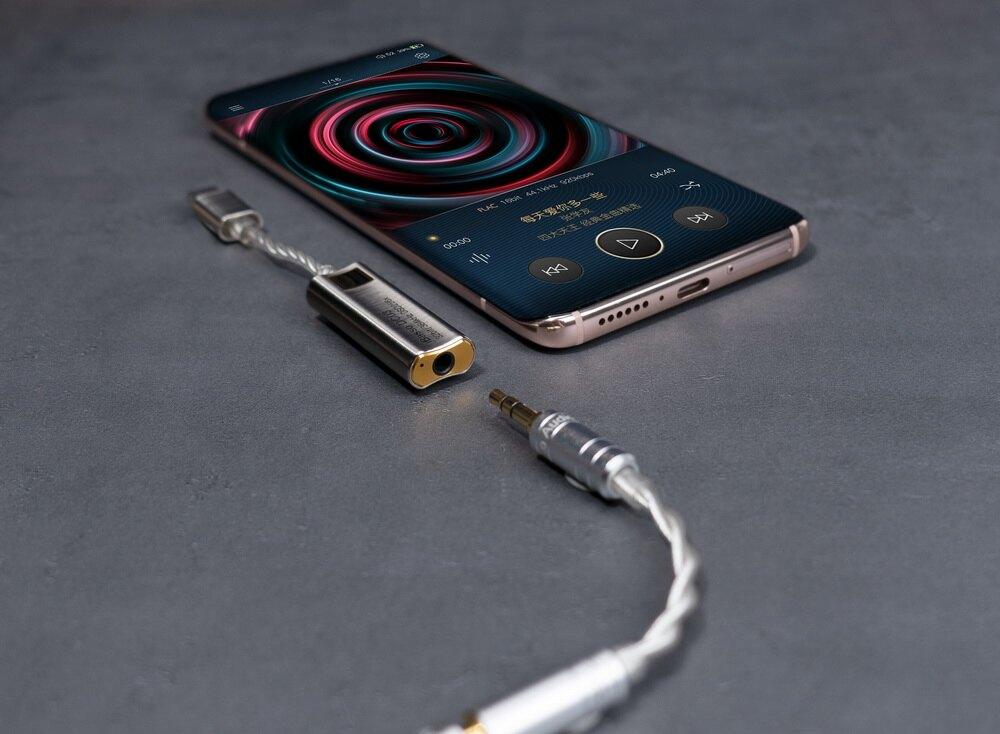 志達電子 DC03 iBasso TYPE C 3.5mm立體迷你耳機擴大機 / USB DAC CS43131