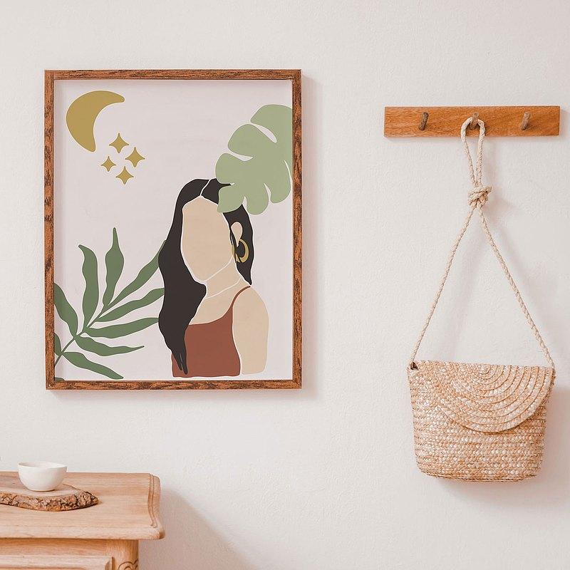 """美麗的房間裝飾圖片自由形式牆面裝飾,買一送二尺寸 8x10"""" 12x18"""""""