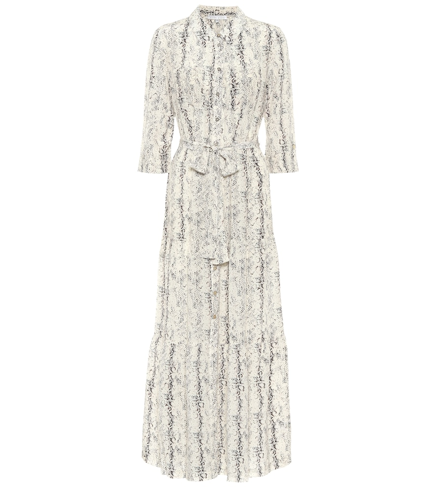 Exclusive to Mytheresa - Zambia printed silk midi dress