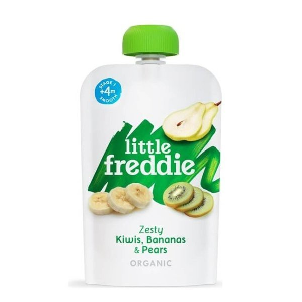 little freddie - 小皮有 機奇異果香蕉泥-4個月食用145元