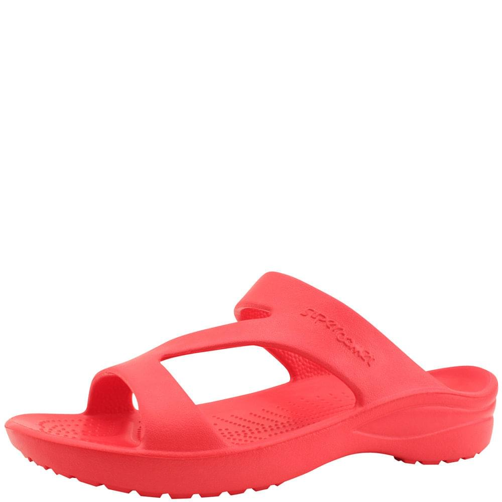 韓國空運 - Aqua Soft Cushion Slippers Red 涼鞋