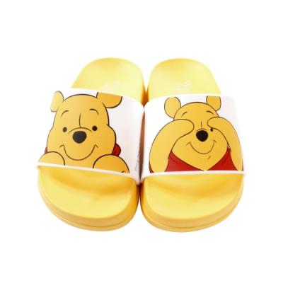 魔法Baby童鞋 台灣製迪士尼小熊維尼授權正版舒適美型拖鞋sd3099