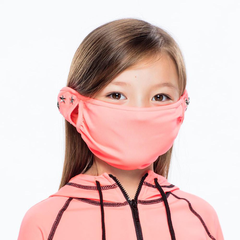 【HOII后益】星星鉚釘美膚口罩-兒童(三色:黃/紅/藍)