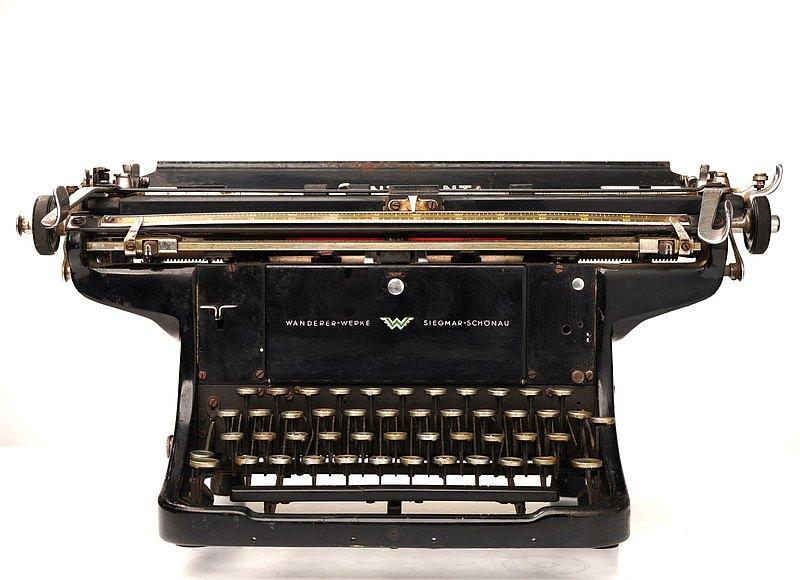 1930德國Continental古董打字機(TWb-1)/老件/老物/歐洲