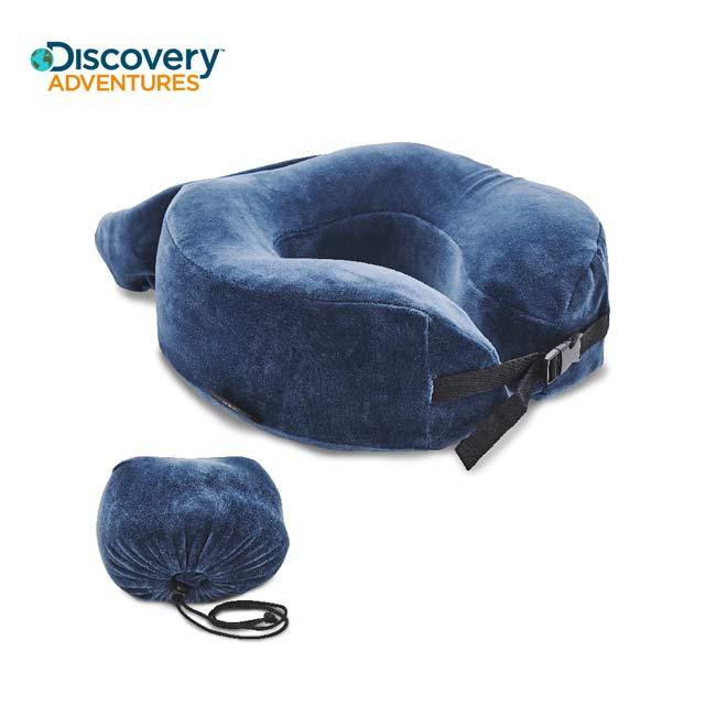 【Discovery Adventures】加高記憶棉旅行頸枕-藍