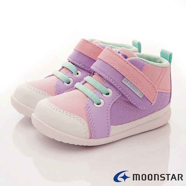 日本Moonstar月星機能童鞋玩耍速乾系列-CRB1259紫(寶寶段)
