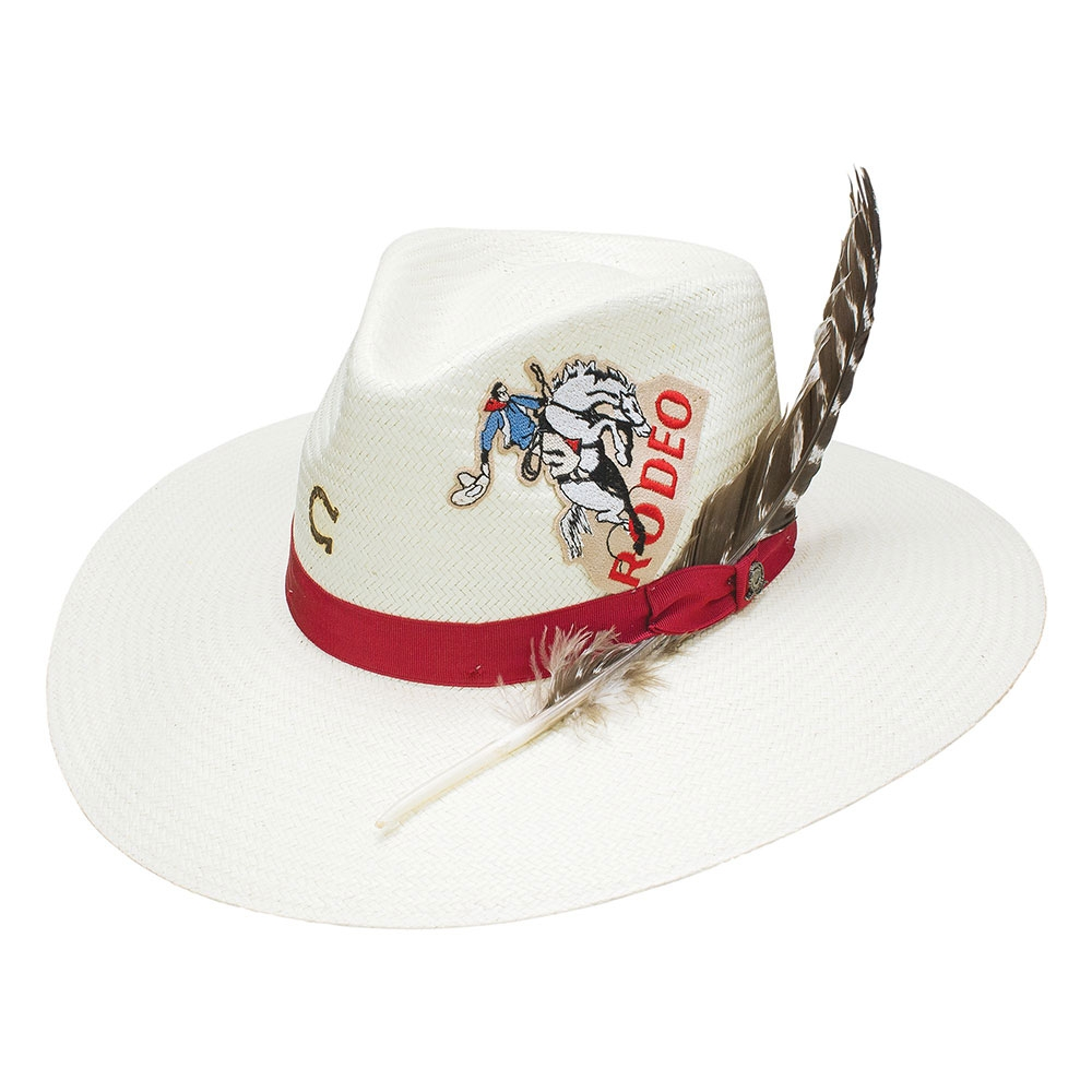 Charlie 1 Horse Rodeo Road - Straw Cowboy Hat