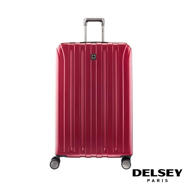 【DELSEY】法國大使 VAVIN-29吋旅行箱-酒紅 00207383004
