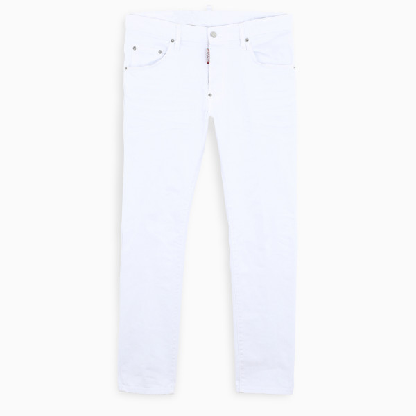 Dsquared2 White Skater slim-fit jeans