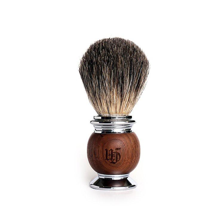 Grand Manner 胡桃木 獾毛刮鬍刷(鬍刷 鬍泡刷 鬍皂刷 刮鬍泡刷 刮鬍皂刷 刮鬍膏刷 獾毛刷)起泡好用推薦