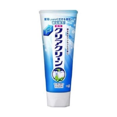 日本花王kao Clearclean牙膏 勁涼薄荷130g
