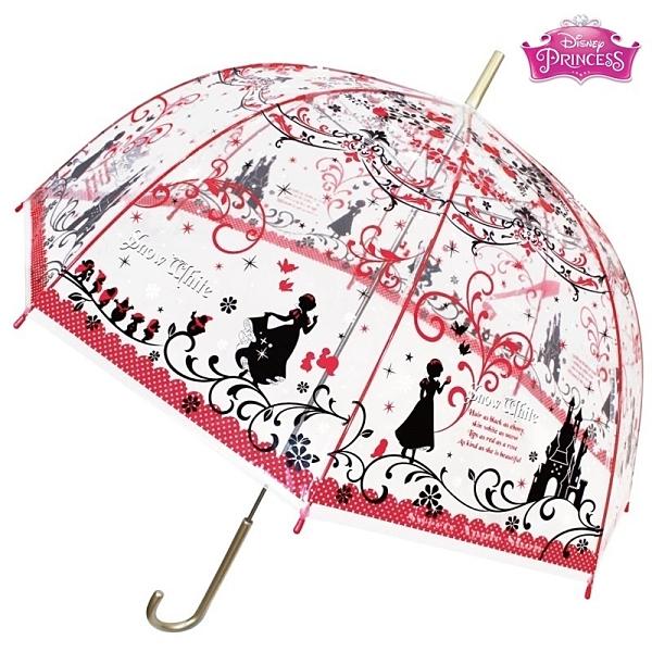 日本限定 迪士尼 迪士尼公主系列 白雪公主 白雪姬 透明繪畫版 雨傘 / 直立傘
