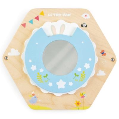 英國 Le Toy Van- Petilou系列啟蒙玩具系列-鏡子轉轉瓦片啟蒙玩具