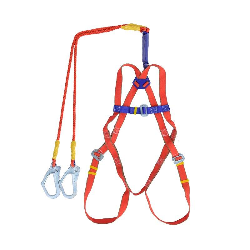 五點式安全帶全身戶外耐磨高空作業國標雙鉤