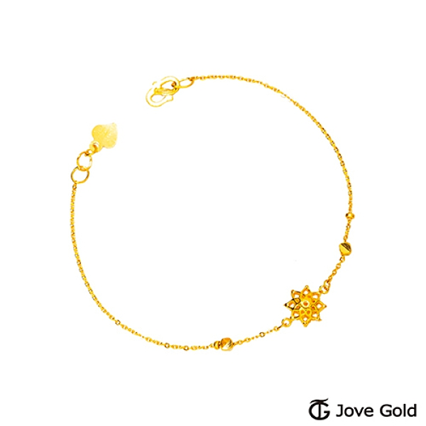 Jove Gold 漾金飾 活力黃金手鍊