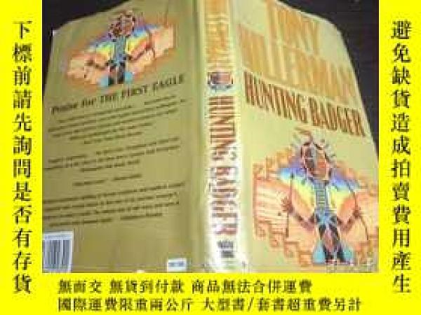 二手書博民逛書店原版英法德意等外文罕見hunting badger Tony H
