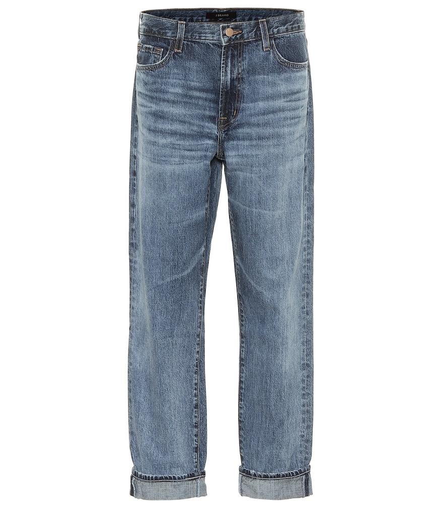 Tate mid-rise boyfriend jeans