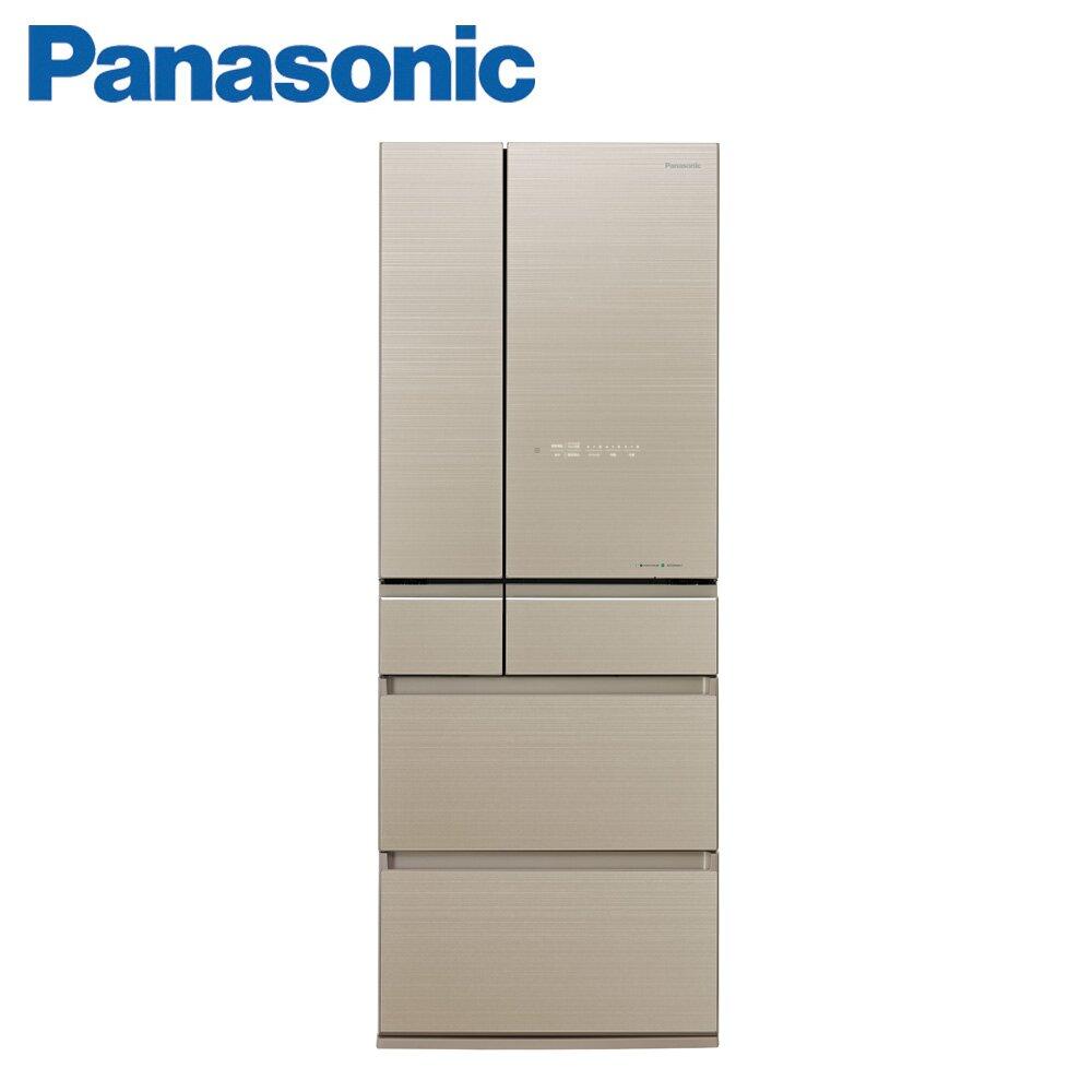 Panasonic國際牌550公升六門日本原裝冰箱(NR-F556HX-N1)-翡翠金