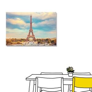 【24mama 掛畫】單聯式 油畫布 無框畫 60X40cm-浪漫巴黎