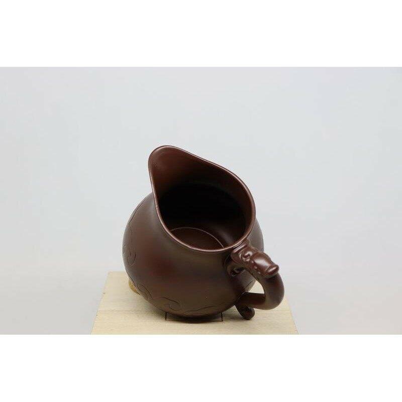 【紅芳庭】魚化龍 茶海 / 紫砂 公道杯 分茶杯 原礦紫砂 大紅袍 宜興紫砂 茶具 茶壺