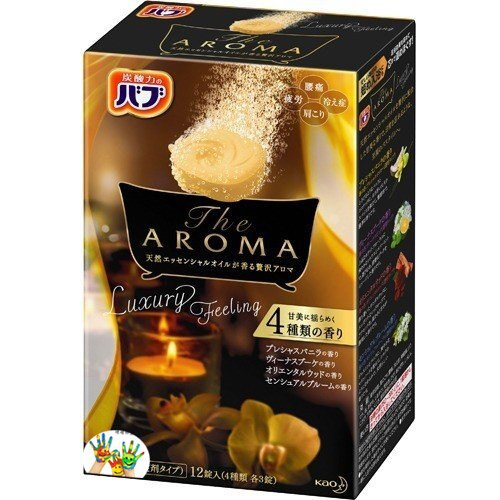 Kao 花王 the AROMA 碳酸入浴劑 泡澡泡湯 12錠入~奢華花香✿