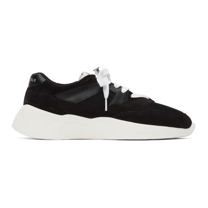 Essentials 黑色 Distance 运动鞋