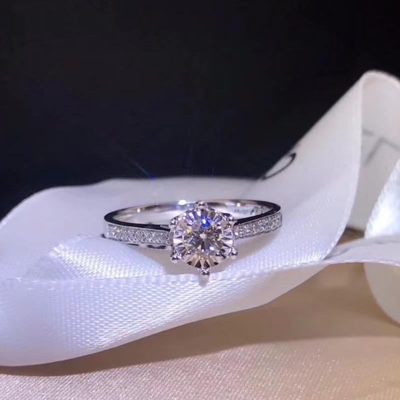 璽朵珠寶 [ 18K金 20分 放大 鑽石戒指 ] 微鑲工藝 精品設計 鑽石權威 婚戒顧問 婚戒第一品牌 鑽戒 GIA